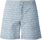 Fashion Clinic Timeless lines print swim shorts