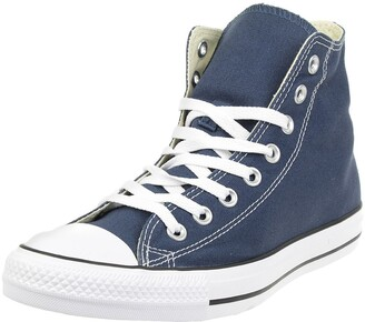 Converse Unisex-Adult Chuck Taylor All Star Hi-Top Trainers Navy/White- 3 UK