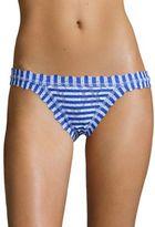 Hanky Panky Brenton Striped Brazilian Lace Bikini Bottom