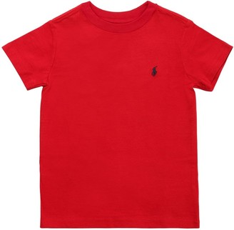 Ralph Lauren Logo Cotton Jersey T-shirt