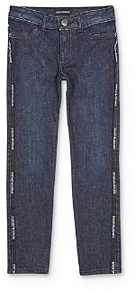 Giorgio Armani Girls' Side-Logo Jeans - Little Kid, Big Kid