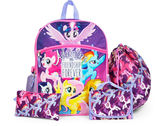My Little Pony 5pc Backpack Set