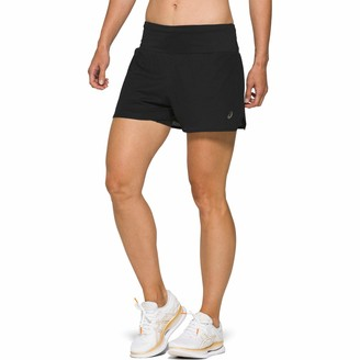 Asics Ventilate 2-in-1 3.5 Inch Women's Shorts - AW20 - Small Black