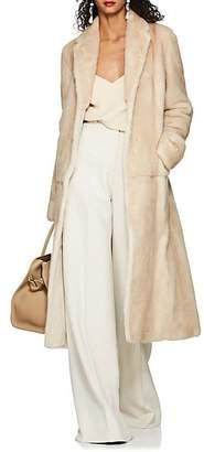The Row Women's Muto MInk Fur Coat - Beige, Tan