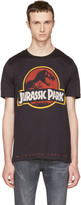 Dolce & Gabbana Black 'Jurassic Park' T-Shirt