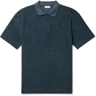 Sunspel Organic Cotton-Terry Polo Shirt