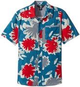 Volcom Ballast Short Sleeve Shirt Boy's Short Sleeve Button Up