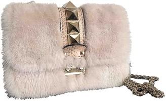 Valentino Glam Lock Pink Mink Handbags