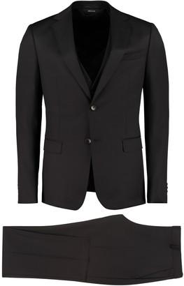 Ermenegildo Zegna Three-piece Wool Suit