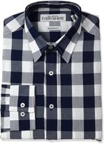 Nick Graham Everywhere Men's Buffalo Check Dress Shirt