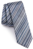 Paul Smith Men's Stripe Silk Tie