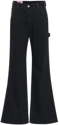 Acne Studios Bla Konst high-rise flared jeans