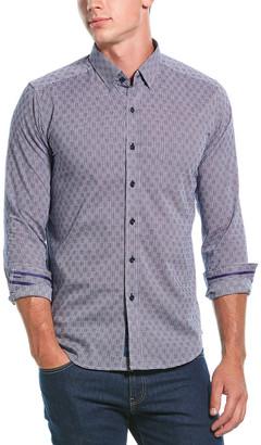 Robert Graham Robertson Tailored Fit Woven Shirt
