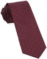 The Tie Bar Burgundy Geo Key Tie