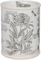 JCPenney Creative BathTM Sketchbook Botanical Toile Wastebasket