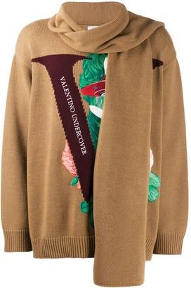 Valentino x Undercover embroidery jumper