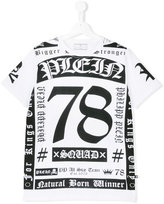 Philipp Plein printed T-shirt - kids - Cotton - 14 yrs