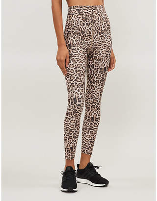 Beach Riot Leopard-print stretch-jersey leggings
