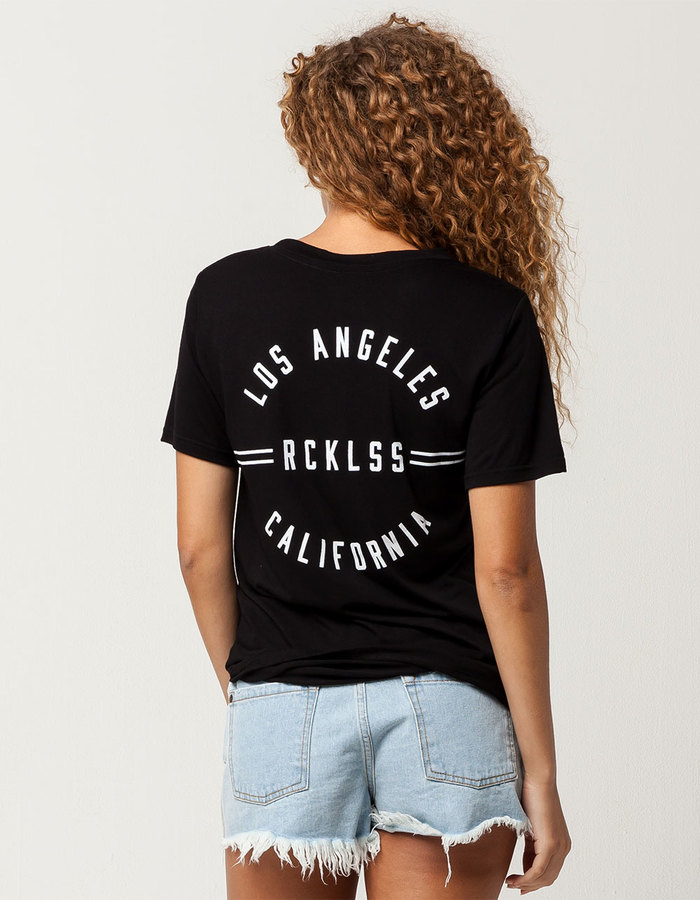 Young & Reckless Womens Boyfriend Tee
