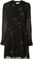 A.L.C. stars print dress - women - Silk/Polyester - 2