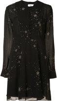 A.L.C. stars print dress - women - Silk/Polyester - 4