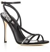 Sergio Rossi Lexington Embellished High Heel Sandals
