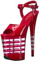 Pleaser USA Women's Flam809ln/r/m Platform Sandal,7 M US