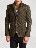 John Varvatos Cotton Camo Jacket