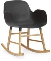 Normann Copenhagen Form Rocking Armchair Black/Oak