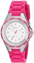 Michele Women's MWW12P000002 Jellybean Analog Display Analog Quartz Pink Watch