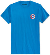 Mighty Fine Men's Captain America Logo T-Shirt