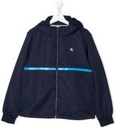 TEEN logo print jacket