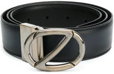 Z Zegna classic buckled belt