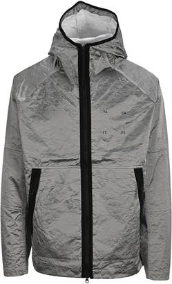 Nike Metallic Effect Hooded Jacket