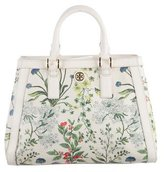 Tory Burch Botanical Printed Robinson Tote