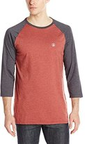 Volcom Men's Heather 3/4 Raglan T-Shirt
