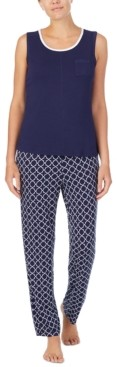 Nautica Tank Top & Printed Pants Pajama Set