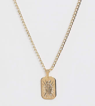 Luz Image Gang gold filled 'la luz' pendant necklace