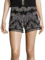 Alexis Milov Embroidered Shorts