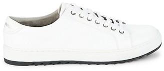 Karl Lagerfeld Paris Low-Cut Leather-Look Sneakers