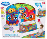 NEW Playgro Activity Tunnel Gym Assorted