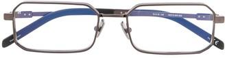 Hublot Eyewear rectangle frame glasses