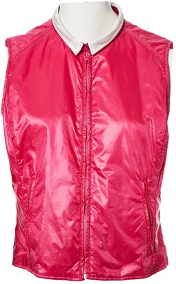 Fay Pink Synthetic Jackets