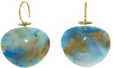 Ten Thousand Things Pariaba Opal Turtle Shell Earrings - Yellow Gold