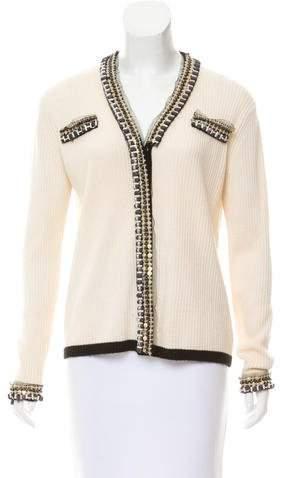Altuzarra Embellished Knit Cardigan