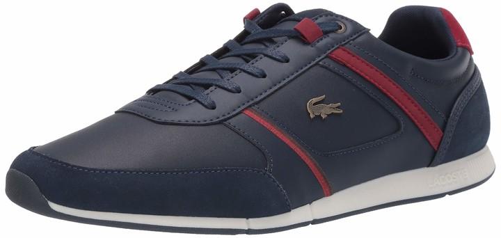 Lacoste Red Leather Men's Shoes   Shop