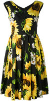 Dolce & Gabbana floral print dress - women - Cotton - 38