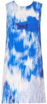 Carolina Herrera Sleeveless Tie-Dye Shift Dress