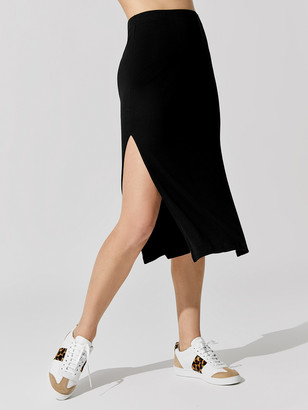 LnA Lucy Ribbed Skirt