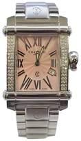 Charriol Stainless Steel Pink Diamond 28mm Womens Watch
